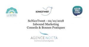 #SoNiceTweet : Inbound Marketing, Conseils et Bonnes Pratiques @ La Verrière | Nice | Provence-Alpes-Côte d'Azur | France