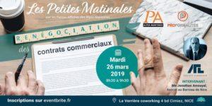PetiteMatinale - Renégociation des contrats commerciaux @ La Verrière  Coworking